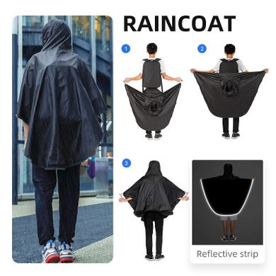Рюкзак Mark Ryden Rock MR9405 (raincoat) MARK RYDEN Черный
